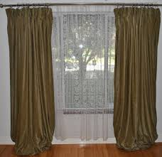 how to basement window curtains install curtain on blinds