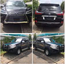lexus dance of f tonto dikeh u0027s hubby buys her a 2017 lexus suv and security pickup