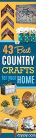 Diy Craft Projects For Home Decor 43 Best Country Crafts For Your Home Diy Joy