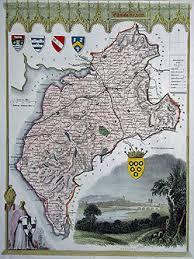 cumberland lake map maps of cumberland lake district original antiques