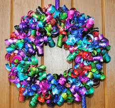 ribbon wreaths diy ribbon wreaths craft a wreath for your door ribbon wreaths