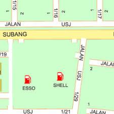 map usj 1 map of 9 jalan usj 1 2l 47500
