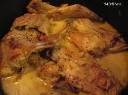 cuisiner le lapin en sauce mijoté de lapin à la moutarde à l ancienne mirliton
