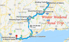 Connecticut Travel Itinerary images This winter road trip in connecticut has the perfect weekend itinerary jpg