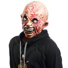 horror masks halloween demon zombie mask halloween costume full head latex horror mask