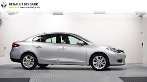 renault sedan fluence 152d5487 renault fluence r link silver youtube