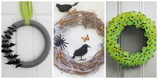 Halloween Wreaths Ideas by Diy Halloween Window Decorations