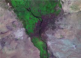 Satellite View Map World Cities Satellite Images Landsat By Geology Com