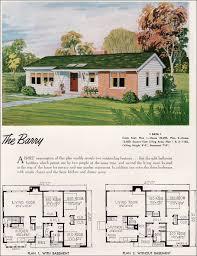 Mid Century Modern Tiny House 1952 National Plan Service Barry Mid Century Modern