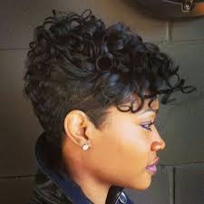 natural black hair styles short in back long in front 267 best cute short cuts updo s images on pinterest natural