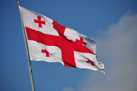 Flag Red With White Cross Flag Of Georgia Country Wikiwand