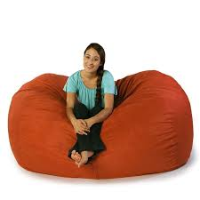 jaxx 6 u0027 sofa saxx bean bag pumpkin beanbagtown com
