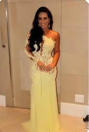 yellow lace prom dress in 2016 fashion trends u2013 fashion gossip