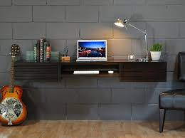 Wall Mount Computer Desk Wall Mounted Computer Desk For Small Spaces Home Design