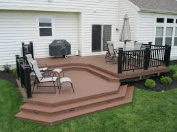Deck To Patio Transition Composite Deck Builders Columbus Oh U2013 Columbus Decks Porches And