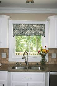 kitchen curtains and valances modern kitchen curtain ideas with