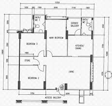 hdb floor plans floor plans for tampines street 71 hdb details srx property