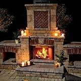 Backyard Fireplaces Ideas Backyard Fireplace Designs A Magical Mystery Tour