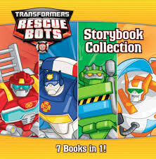 transformers rescue bots storybook collection hachette book
