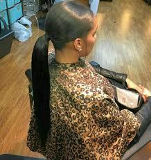 slick back weave hairstyles best 25 slick ponytail ideas on pinterest sleek ponytail