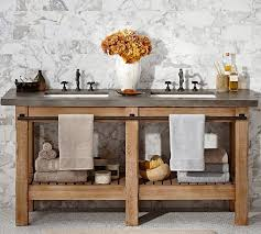 Pottery Barn Bathroom Ideas So Cute Could Totally Build This Instead Of Buying It Abbott