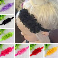 cheap hair accessories aliexpress buy twdvs flower headband newborn hair bands bow