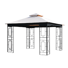 garden treasures replacement 10 square pergola canopy home