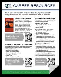 What Should A Resume Look Like For A Highschool Student American Political Science Association U003e Careers U003e Careers In