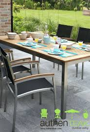 Outdoor Stainless Steel Furniture Patio Ideas Stainless Outdoor Furniture Nz Authenteaks Stainless