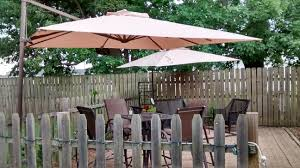 Walmart Bbq Canopy by Walmart 2011 Square Offset Umbrella Replacement Canopy Garden Winds