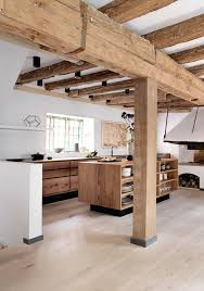 Oak Kitchen Design by Best 25 Modern Rustic Kitchens Ideas Only On Pinterest Rustic