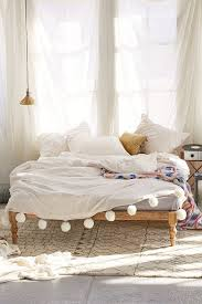 bed bohemian bed frame home design ideas