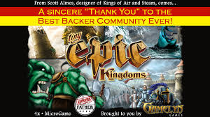 tiny epic kingdoms by gamelyn games u2014 kickstarter