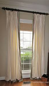 bedroom the difference between the pinch pleat curtains all