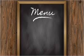 blank menu templates 30 free menu templates free pdf word design templates creative