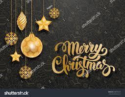 festive christmas luxury design golden christmas stock vector