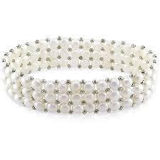 pearl bracelet elastic images Cheap button pearl bracelet find button pearl bracelet deals on jpg