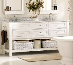 Modern White Bathroom Vanity by White The Clean Color Choice For Modern And Cottage Bathroom
