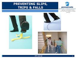 bureau workers comp preventing slips trips falls bureau of workers comp pa