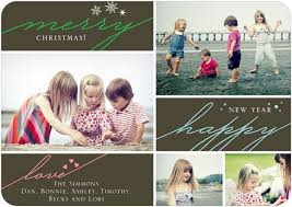 30 holiday photo card designs using family portraits with quotes