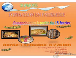 formation cuisine patisserie second session de formation en pâtisserie ouagadougou région du