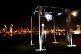 wedding arches rental miami acrylic wedding canopy chuppah rentals luicte miami south florida