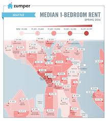 Art Institute Of Chicago Map by Mapping Seattle Rent Prices This Spring 2016 The Zumper Blog
