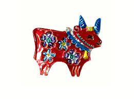 bull buy mexican punched tin ornaments and figures at viva