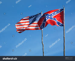 Confederate Flag Tennessee Flags American Civil War Union Flag Stock Photo 77258020