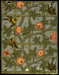 floral art exhibition wallpapers william morris u0026 wallpaper design victoria and albert museum