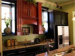 the latest trends for cherry kitchen cabinet colors top home design