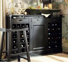 buffet table with wine rack sosfund