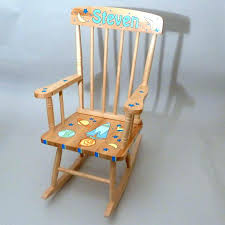 Toddler Rocking Chairs Personalized Rocking Chair For Toddlers Remarkable Personalized