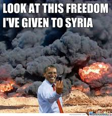 Syria Meme - obama and syria by greentree meme center